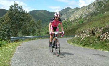Team sport spirit en carrera de ciclismo
